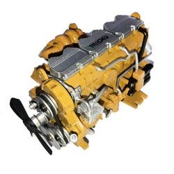 Zink-legierung Diesel Motor Modell Kits für HG-P602 RC Auto Modell