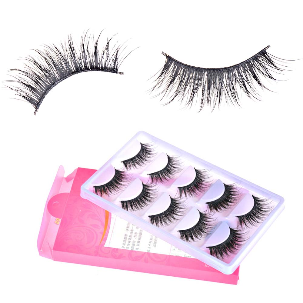 Newest 5 Pairs Doll Eyelashes Suitable For Blyth Long Eyelashes Just For The 12 Inches 1/6 Doll Dolls Accessories