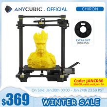 Anycubic Chiron 3D Printer Diy Tft Auto-Leveling Impresora 3D Printers Extruder Dual Z-as Impressora 3D Printing Kit drucker