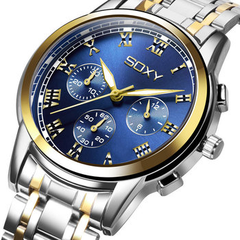 Men Watch Men's Watch Business Luxury Stainless Steel Watch For Men Military Sports Relogio Masculino Reloj Hombre 2020 New