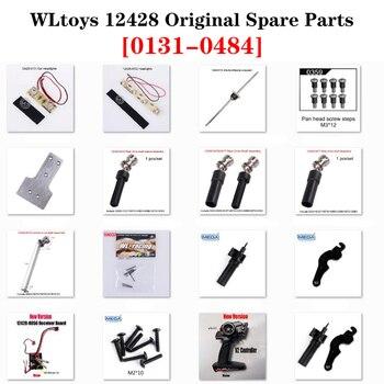 цена на 12428 Original Parts 0131-0484 Wltoys 12423 RC Car Spare Part 1040 Remote Control/Receiver/Differential/Rear Drive Shaft/Nut