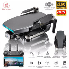 Best Drone 4k GPS with Double Camera 5G Foldable Brushless Profissional 1000M Wifi 25Mins RC Dron 4k GPS Quadrocopter Follow Me
