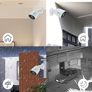 Image 5 - Movols 1080P POE H.265 NVR Set 4CH Security Camera System 2.0MP IR Indoor Outdoor CCTV Kit Waterproof Video Surveillance System
