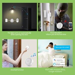Image 5 - Fuers WiFi Gateway Alarm System Tuya APP control Intelligent night light Smart home security system smart doorbell