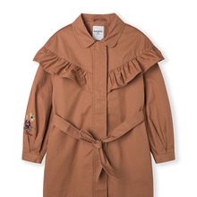Balabala Fashion Jackets For Girls Autumn Children Casual Cute Trench Outerwear