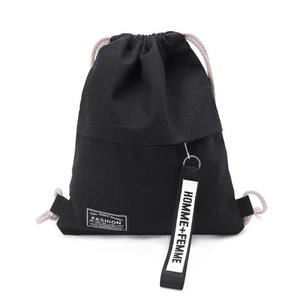 Pouch Drawstring-Bag School-Backpack Travel Cosmetic-Storage Waterproof Sport Women Gym