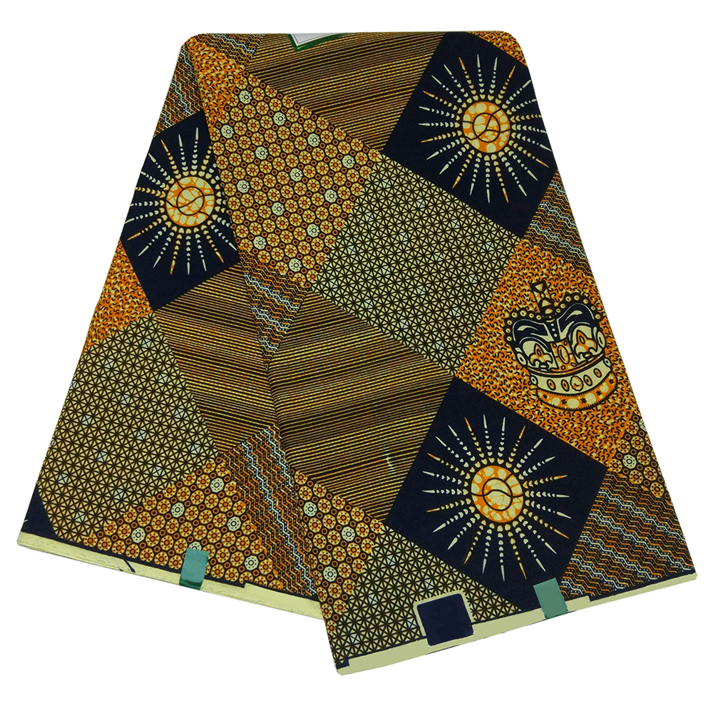 2019 New Arrival African Negaria Ankara Guaranteed Wax Nederland Java Print Fabric 6Yards