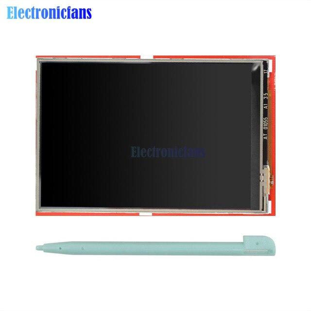 وحدة شاشة لمس 3.5 بوصة TFT LCD 480x320 Mega 2560 Mega2560 لوحة التوصيل والتشغيل لشاشة LCD Arduino diymore