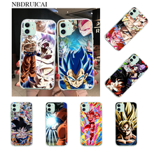 NBDRUICAI Dragon Ball Z Anime Goku Cartoon Coque Shell Phone Case for iPhone 11 pro XS MAX 8 7 6 6S Plus X 5S SE XR cover(China)
