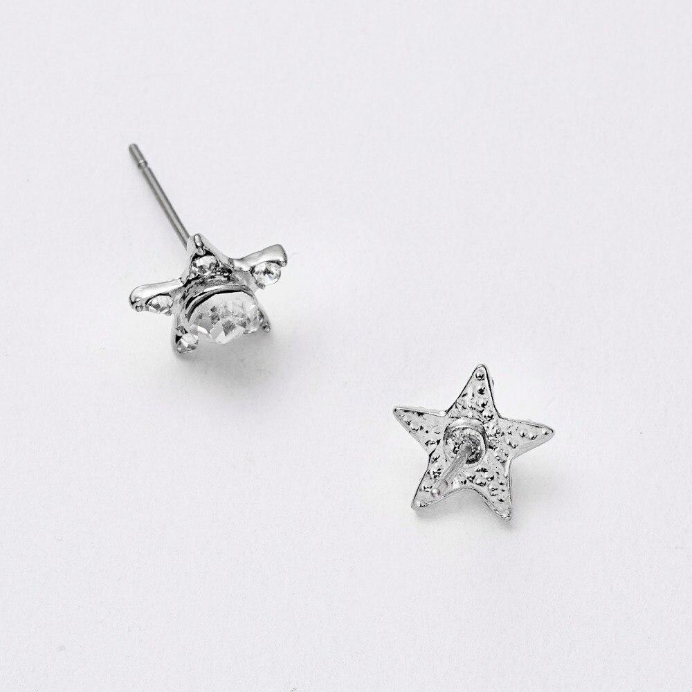 12 Pairs/set Stud Earrings Set With Card Transparent Zircon Balls Love Flowers Earrings Women Imulated Pearl Earrings Jewelry 75