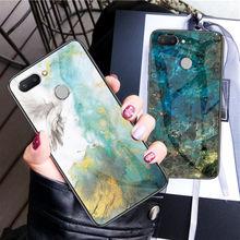 For Xiaomi Redmi Note 5 6 Redmi 6 Pro 6A Case marble Tempere