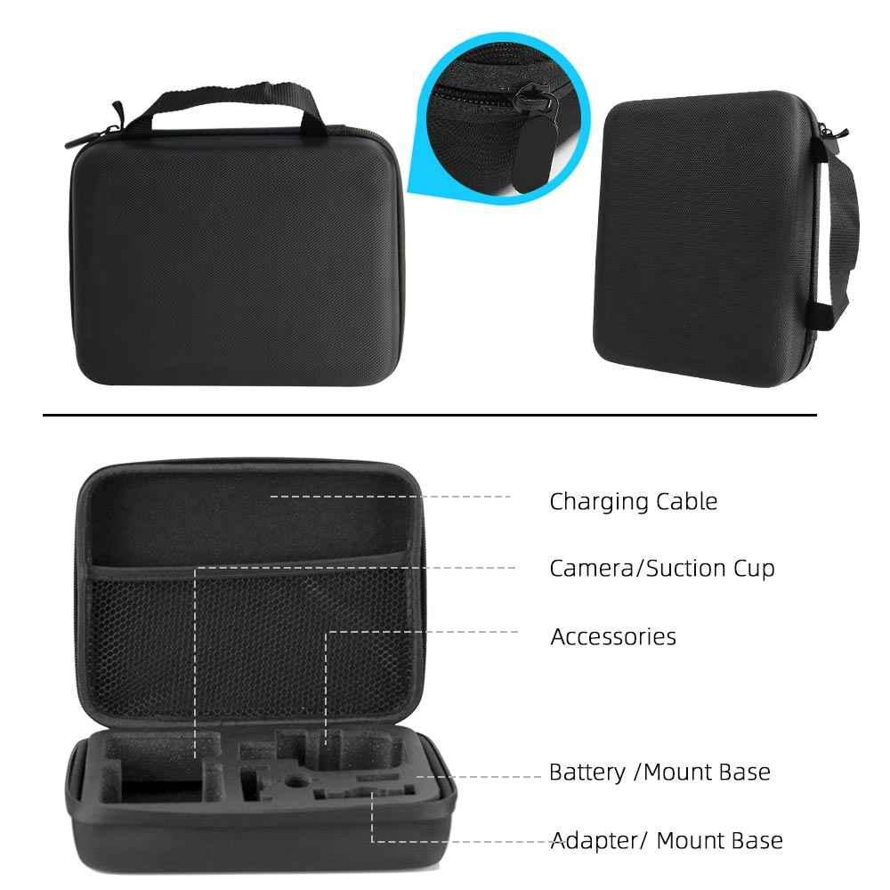 Bolsa Lavable Fácil De Protección Funda de transporte para cámara GoPro Action