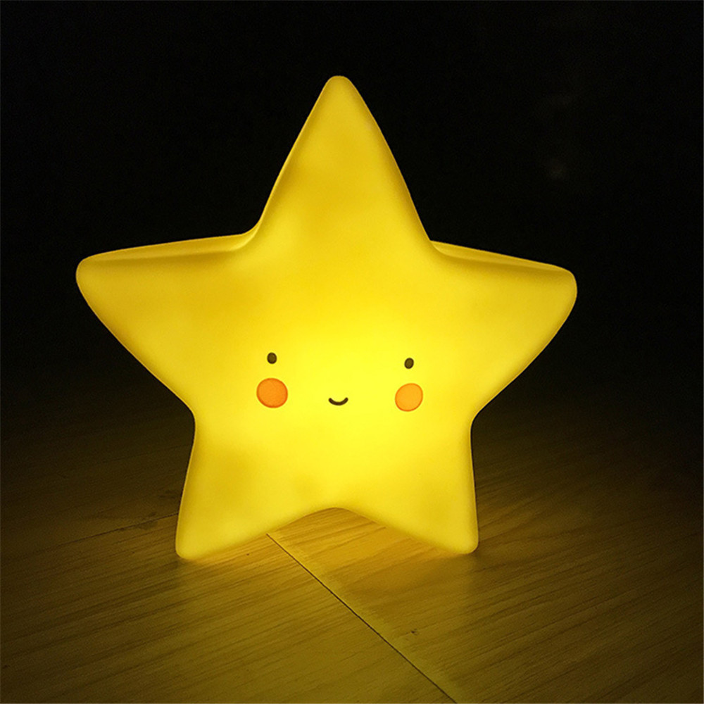 Led Night Light Baby Children's Room Decoration Bed LED Toy Bedroom Decoration Star Shape Light Baby LED Children's Night Lamps