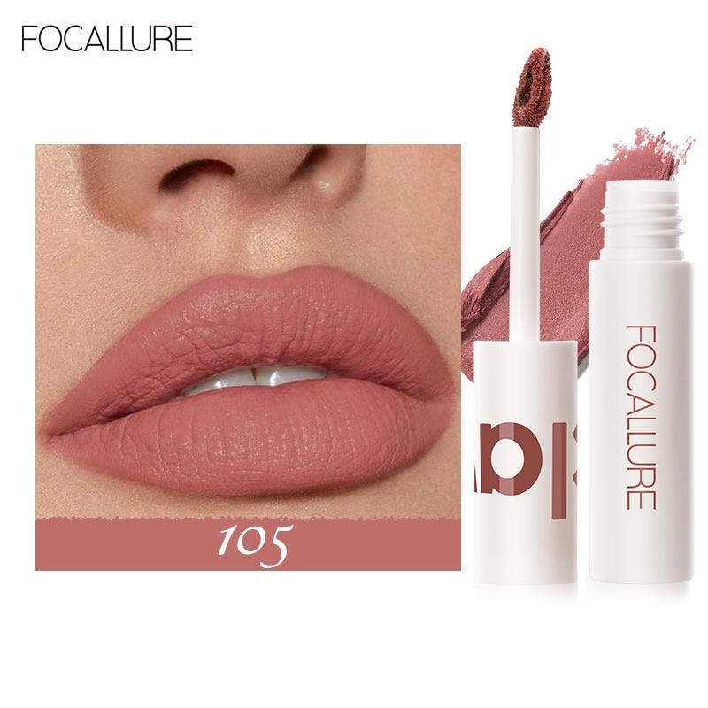 FOCALLURE Matte Lippenstift Für Lippen Lang Anhaltende Samt-nebel Glatt Professionelle Make-Up Hohe Qualität Wasserdichte Frauen Kosmetik