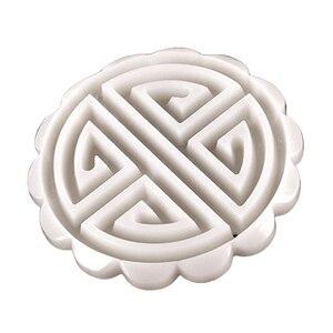 FEBWIND Пластиковая форма для лунных пряников 100 г/50 г печенья резак с печенья штамп шоколадная форма для выпечки Луна Форма для выпечки китайских пирожных/Пресс печенья 371
