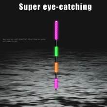 Flotteur intelligent de pêche de nuit Super lumineux, outils lumineux électroniques sensibles, accessoires de bouée Ultra E4T1