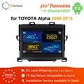 Ownice Android 9 0 2 Din Автомобильный Радио мультимедийный плеер GPS стерео k3 k5 k6 для Toyota ALPHARD 2008 2009 2010 2011 2012 2013 2014