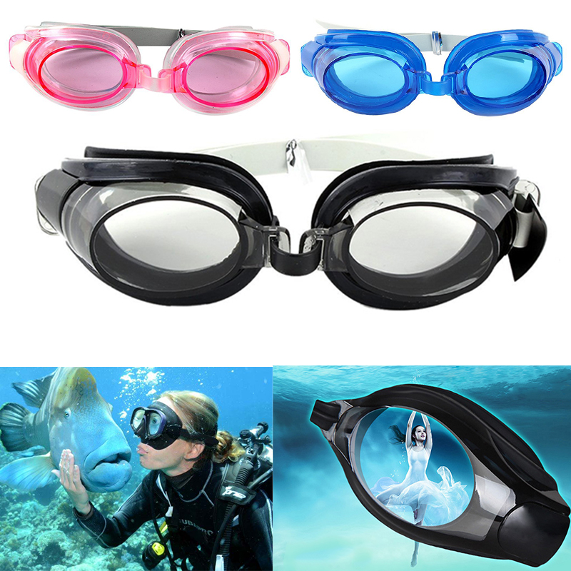 3 In 1 Swimming Goggles Anti-fog Swimming Water Pool Glasses For Adults Kids Unisex Adjustable Glasses Eyewear Anti-fog Dropship