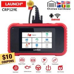إطلاق X431 CRP129E CRP123E CRP129 CRP123 Creader الثامن OBD2 تشخيص أداة ل ENG/AT/ABS/SRS متعددة اللغات تحديث مجاني