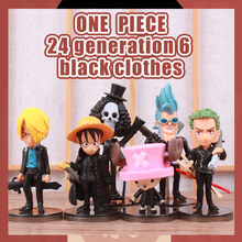Anime One Piece Luffy Roronoa Zoro Ace Chopper PVC Action Figure Going Merry Doll Collectible Model Toy Christmas Gift