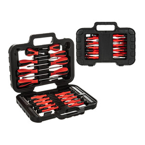 Image 1 - 58PC Screwdriver & Bit Set Precision Slotted Torx Pillips Tool Kit Mechanics Hand Tool Set