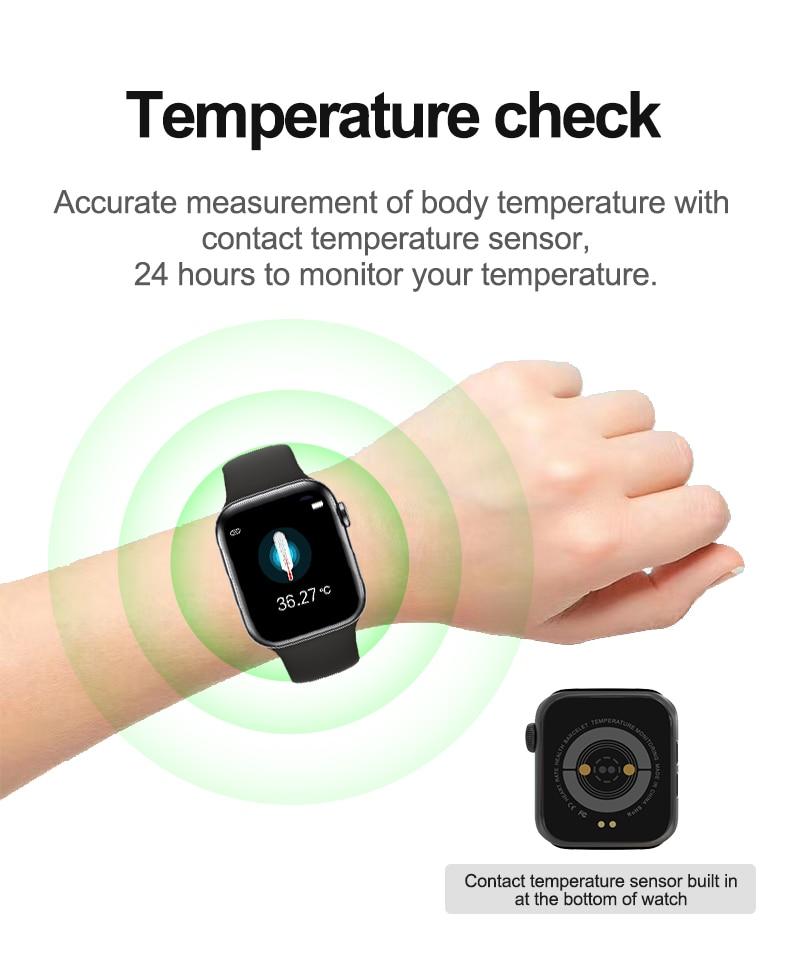 U78 Plus Smartwatch Series 5 6