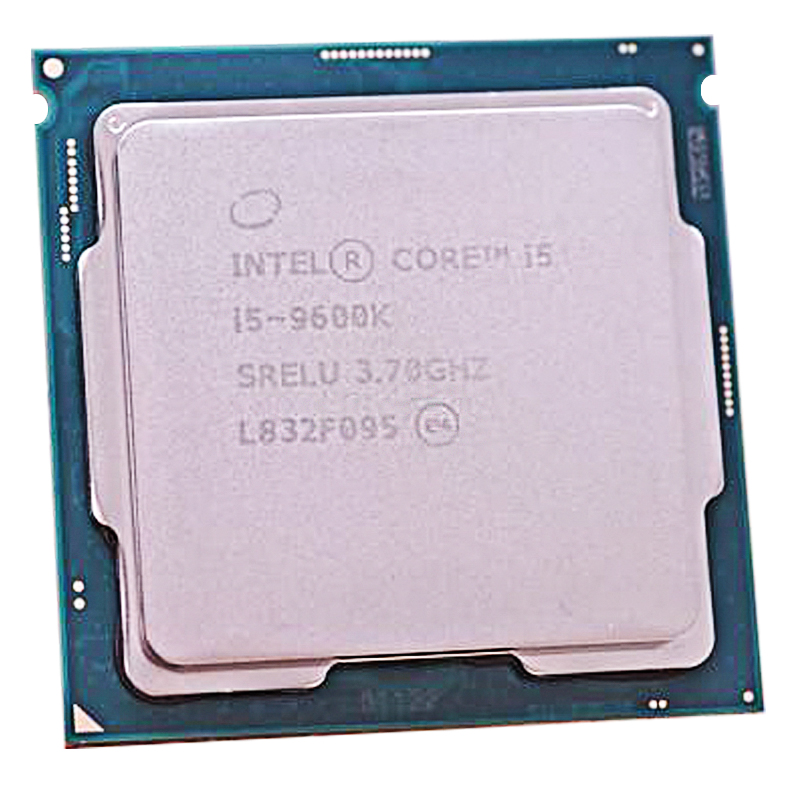 Intel Core i5-9600K Prozessor i5 9600K CPU SRELU 6Core 6 Gewinde 3,7 GHz 9MB 14nm 95W FCLGA1151