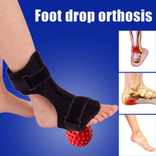 Foot Drop Splint Ankle Support Orthosis Adjustable Plantar Dorsal Stabilizer Correction SDFA88