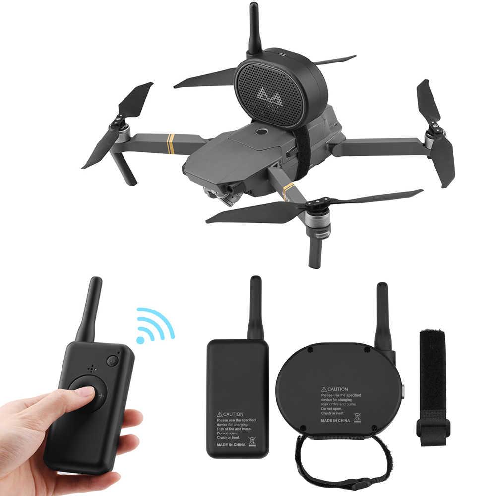 1 Set Drone Speaker Megaphone For Drone Camera Loudspeaker For Dji Mavic Mini 2 Pro Air Phantom 3 4 4k Profissional Drones Camera Drones Aliexpress