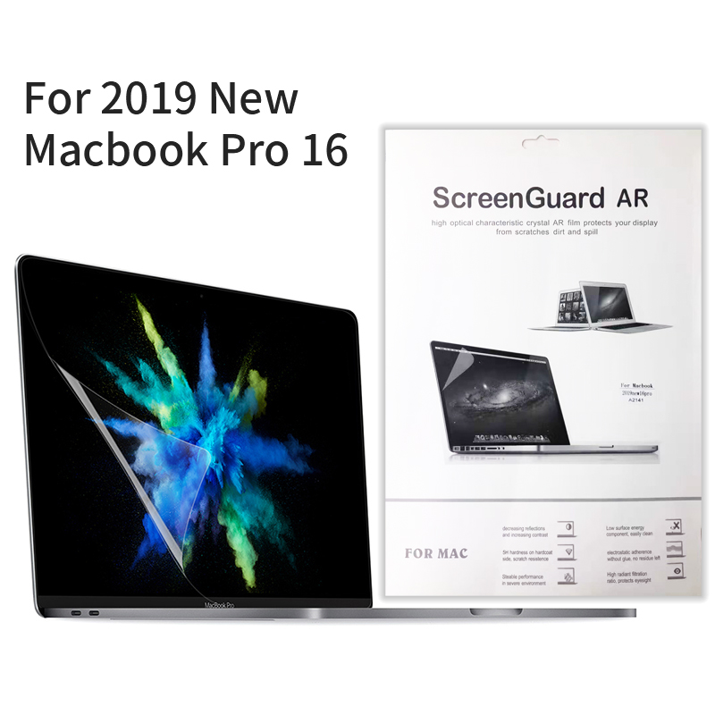 Protection Film For MacBook Pro 16 2019 The New Screen Protector  HD Clear Film With Hydrophobic Coating
