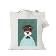 цена на 2019 Origina kawaii canvas cartoon custom cute tote bag customize eco bags diy logo shopping bag with logo