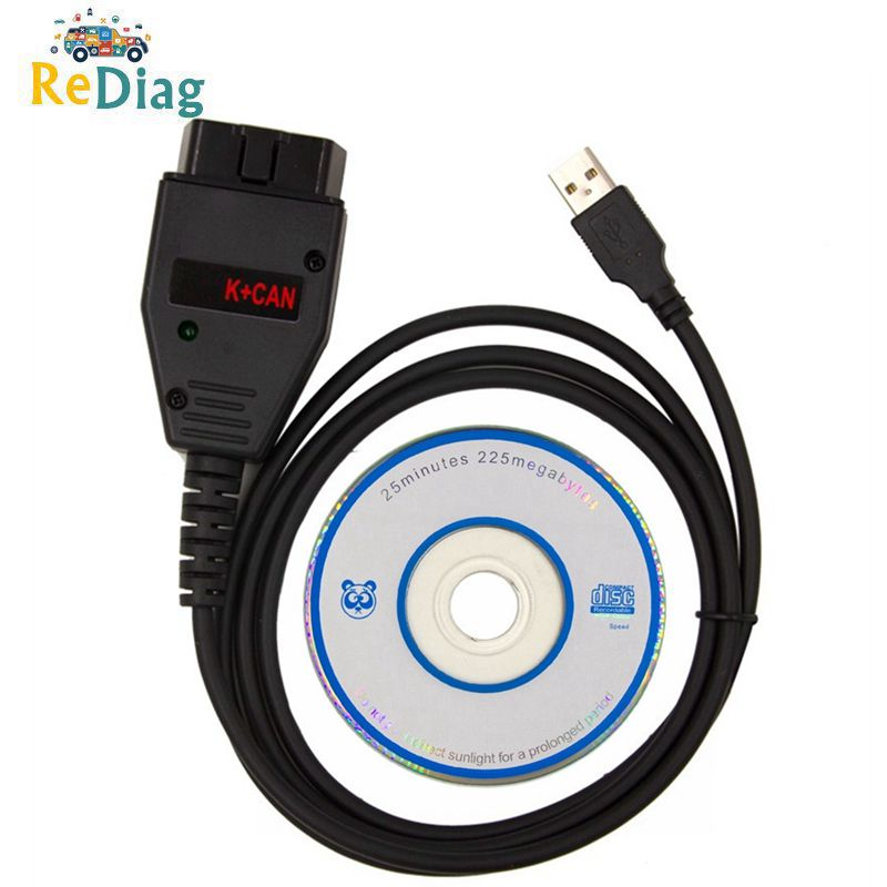 Hot Sale For VAG K+CAN Commander 1.4 With FTDI FT232RL PIC18F258 Chip OBD2 Diagnostic Interface Cable For VW/AUDI/SKODA/SEAT