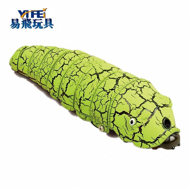 Strange New 9910 Remote Control Long Worm Crawling Popularization Of Science Model Animals And Insects Children Early Education
