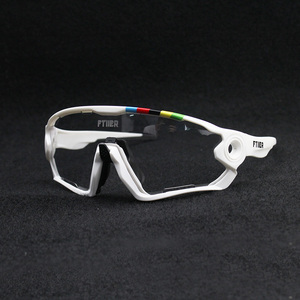 Image 1 - 2019 Color Photochromic Cycling Glasses UV400 Men MTB Bike Bicycle Riding Eyewear TR90 Outdoor Sport Polarized Sunglasses