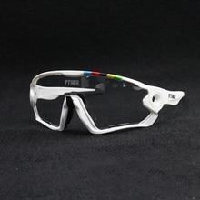 2019 couleur photochromique lunettes de cyclisme UV400 hommes vtt vélo équitation lunettes TR90 plein air Sport lunettes de soleil polarisées