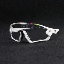 نظارات لركوب الدراجات بلونية 2019 ملونة نظارات شمسية مستقطبة لرياضة ركوب الدراجات الجبلية للرجال UV400