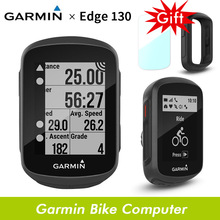 Bicycle GPS Speedometer GARMIN Edge-130 Waterproof Ant  Wireless Streamline-Version 520