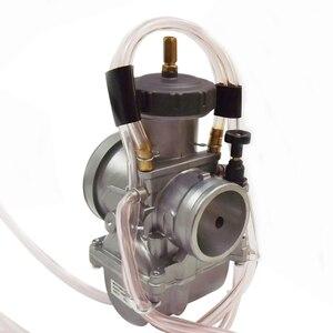 Image 5 - Carburetor For PWK38 PWK 38 Air Striker Carb TRX250R CR KX RM YZ 250
