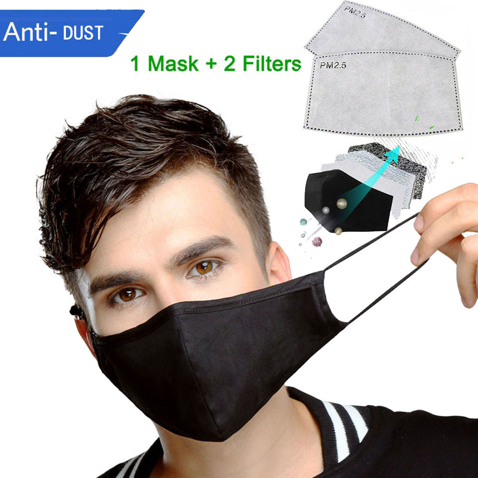 Anti-Fog Dust Mask  Adult PM2.5 Anti Face Mouth Warm Masks Healthy Air Filter Dust Proof Protection