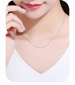 Image 5 - ZHIXI 18K Gold Jewelry Genuine 18K Yellow Gold Chain Long Real Au750 Necklace Pendant Wedding Party Gift For Women ZXX312