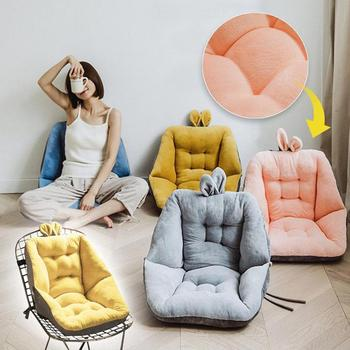 Armchair Seat Cushions for Office Dinning Chair Desk Seat Backrest Pillow Office Seats Massage Pad