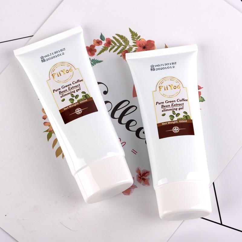 2 Tubes Fiiyoo Green Coffee Bean Extracts Anti Cellulite Creams