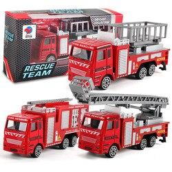 Инженерная игрушка горный автомобиль грузовик детский подарок на день рождения пожарный подарок игрушки для детей пожарная машина #3
