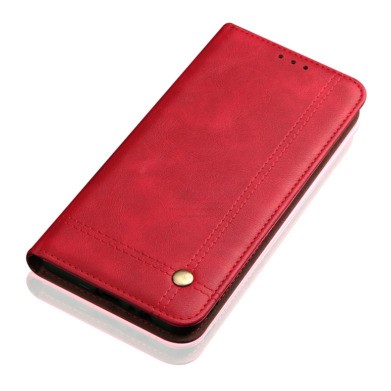 H1c8a8e212da8451e89a8af68af47c81aD Luxury Retro Slim Leather Flip Cover For Xiaomi Redmi Note 8 / 8T / 8 Pro Case Wallet Card Stand Magnetic Book Cover Phone Case