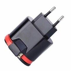 Ue wtyczka podwójny port Usb z mikro kabel Usb inteligentne szybka ładowarka podróżna w Ładowarki od Elektronika użytkowa na