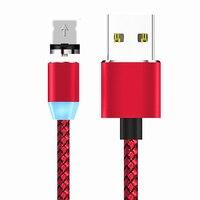 Cable magnético de carga rápida para móvil, cargador de imán de 2M de 8 pines para iphone Xs MAX X XR 8 7 6 6S 5 5S IPOD NANO 7
