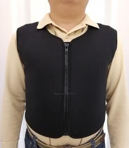 Image 2 - เสื้อกั๊ก Tourmaline ไหล่ Tourmaline ความร้อนด้วยตนเองเสื้อกั๊ก Waistcoat เสื้อกั๊กอุ่น Thermal Magnetic Therapy