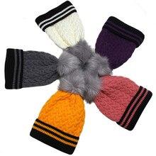 цена на New Fashion Unisex Winter Hats For Women Men Skullies Beanies  Chic Knitting Hat Slouchy Baggy Cap