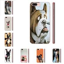 Frances Bulldog Cucciolo di Cane Molle di TPU Modello Per LG G2 G3 G4 G5 G6 G7 K4 K7 K8 K10 K12 k40 Mini Plus Dello Stilo ThinQ 2016 2017 2018(China)