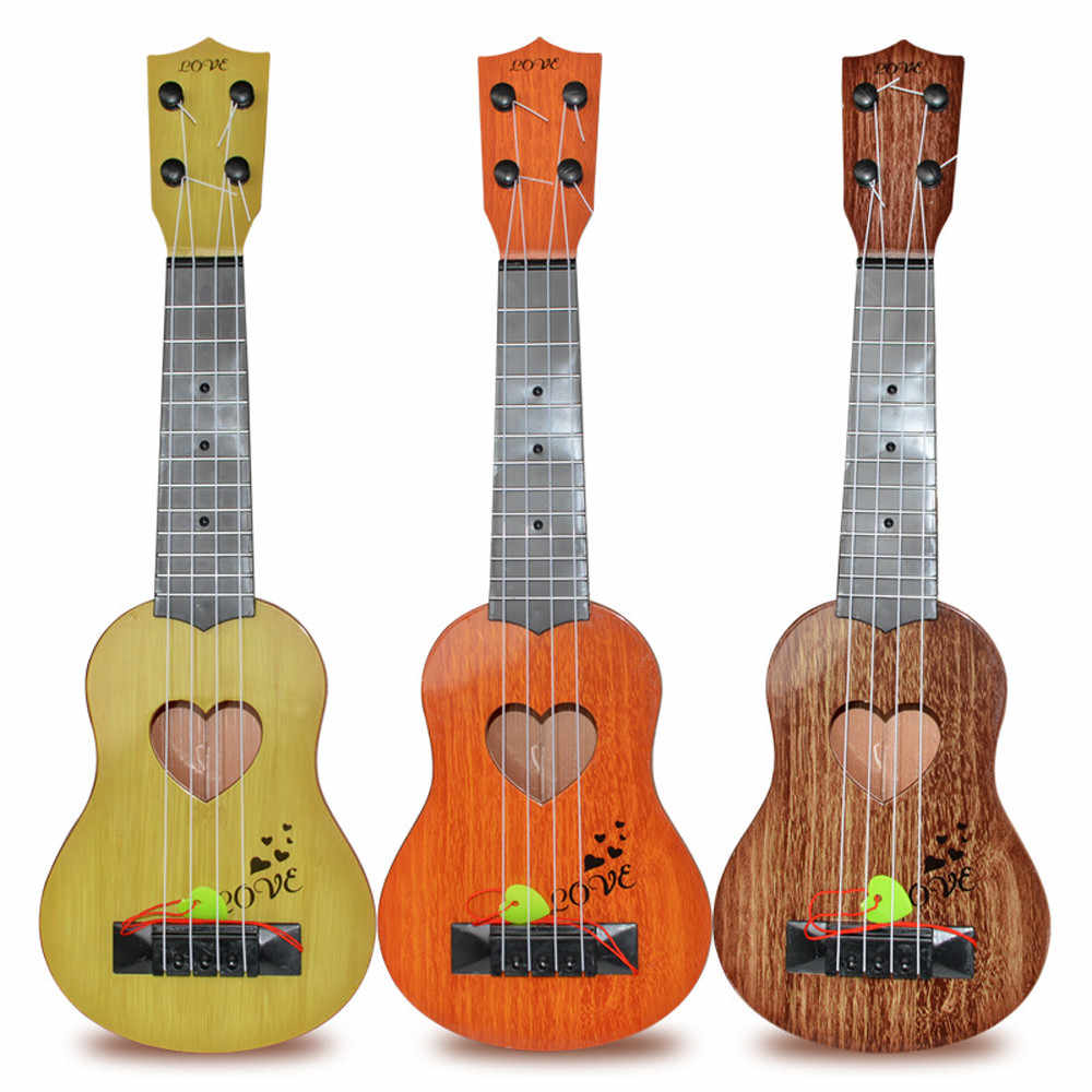 Educational Musical Instrument Toy Kids Beginner Classical Ukulele Guitar Children's Educational Toys #F